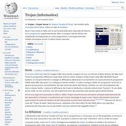 Trojan (informatica)