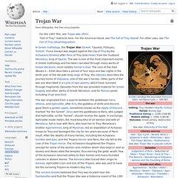 Trojan War - Wikipedia