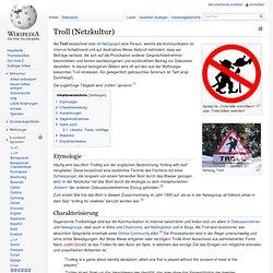 Troll (Netzkultur)