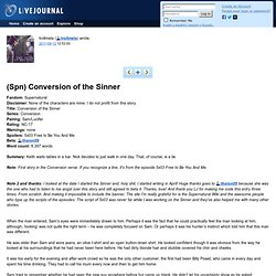 Conversion of the Sinner (Series)