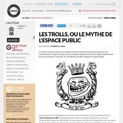 Les trolls, ou le mythe de l'espace public