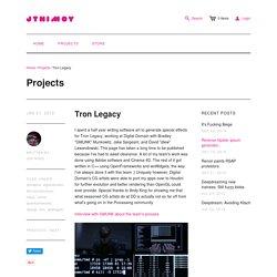 Tron Legacy – jtnimoy