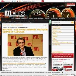 Info RTL : les PV des radars-tronçon seraient illégaux