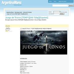 Juego de Tronos [TEMP1][HD 720p][Español