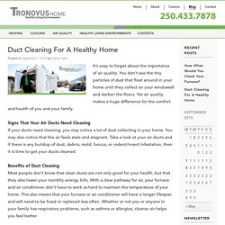 Tronovus Duct Cleaning