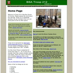 Troop 212 Chesapeake, Virginia