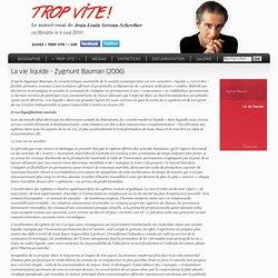 La société liquide - Zygmunt Bauman