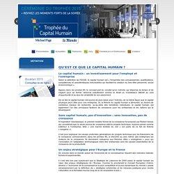 Trophée du Capital Humain - Définition