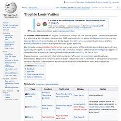 Trophée Louis-Vuitton
