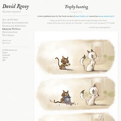 Trophy hunting - David REVOY