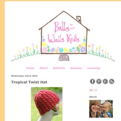 Tropical Twist Hat