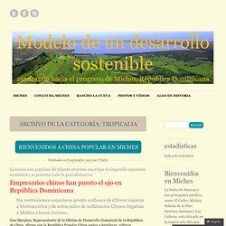 Modelo de un desarrollo sostenible