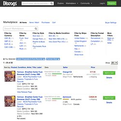 Vinyl, Tropicalia In Furs Records - Buy at Discogs Marketplace