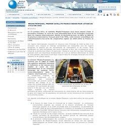 Megha-Tropiques, premier satellite franco-indien pour l'étude du cycle de l'eau - IPSL