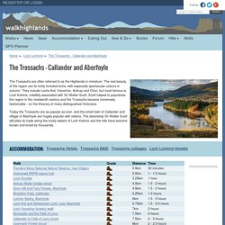 The Trossachs walks - Callander and Aberfoyle
