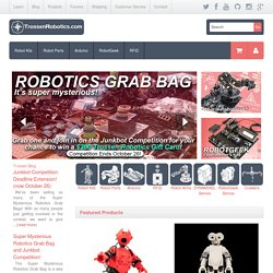 Trossen Robotics - World's leading robot shop for robot kits and