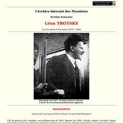 Trotsky Lev Davidovitch Bronstein