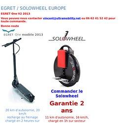 EGRET One Trottinette Electrique Compacte & Puissante