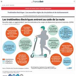 Trottinette électrique : Les nouvelles règles de circulation et de stationnement