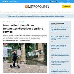 Montpellier : bientôt des trottinettes électriques en libre service
