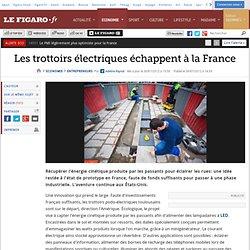 Entrepreneurs : Les trottoirs électriques échappent à la France