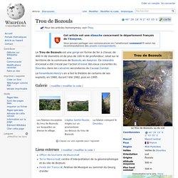 Trou de Bozouls
