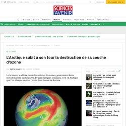 Un trou dans la couche d'ozone en Arctique