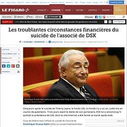 Les troublantes circonstances financières du suicide de l'associé de DSK
