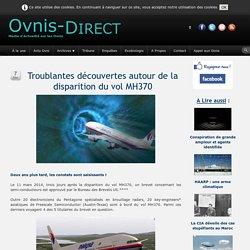 Troublantes découvertes autour de la disparition du vol MH370