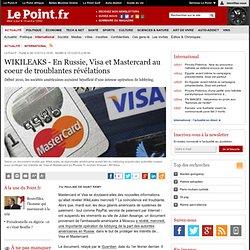 En Russie, Visa et Mastercard au coeur de troublantes révélations