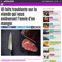 10 faits troublants sur la viande qui vous enlèveront l'envie d'en manger
