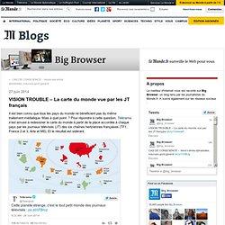 VISION TROUBLE – La carte du monde vue par les JT français