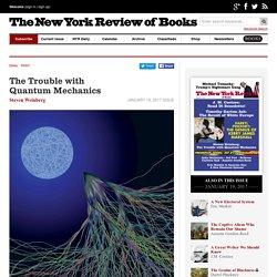 The Trouble with QuantumMechanics