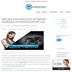 Trouble Shooting Your HP Printer Problems, HP Printer Support USA – Hp Printer Support Phone Number 1-800-717-4164