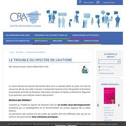 Le Trouble du Spectre de l'Autisme - CRA normandie - Vidéos - BD