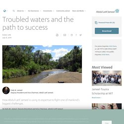 Troubled waters and the path to success