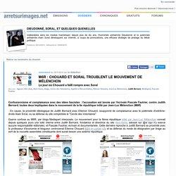 M6R : Chouard et Soral troublent le mouvement de Mélenchon