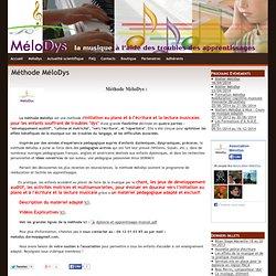 Méthode MéloDys - MéloDys - La musique à l'aide des troubles des apprentissages