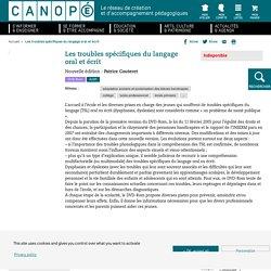 Les troubles spécifiques du langage oral et écrit : Nouvelle édition - DVD