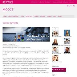 MOOC gratuit : TSA : signes, diagnostic, interventions... (Université de Geneve UNIGE)