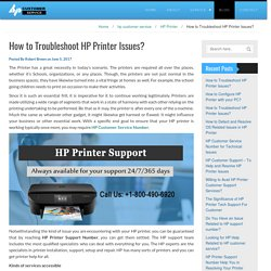 How to Troubleshoot HP Printer Issues?