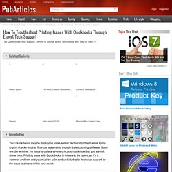 How To Troubleshoot Printing Issues With Quickbooks Through Expert Tech Support