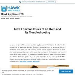 Most Common Issues of an Oven and Its Troubleshooting