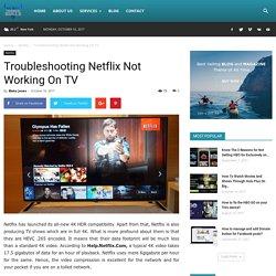 Troubleshooting Netflix Not Working On TV