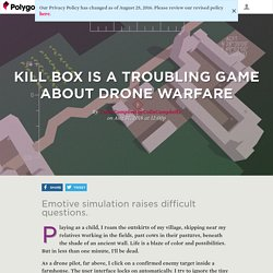 Kill Box is a troubling game about drone warfare
