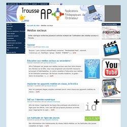 [Trousse APO] : Médias sociaux