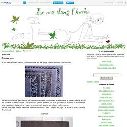 Trousse nem - Le nez dans l'herbe