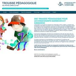 Accueil - Trousse pédagogique - AAPI