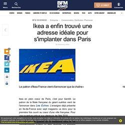 Ikea a enfin trouvé une adresse idéale pour s'implanter dans Paris