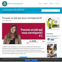 MOOC Trouver un job qui vous correspond
